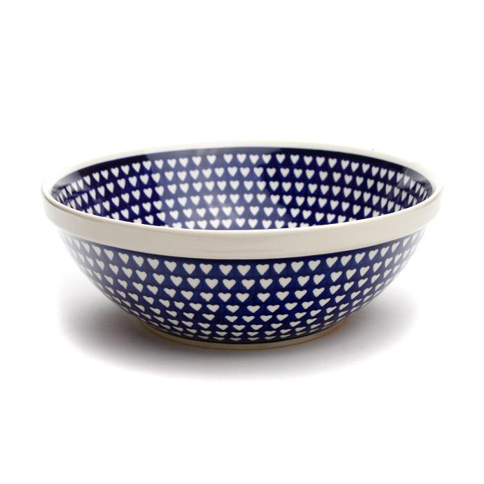 ボウル・大[Z851-1044]【ポーリッシュポタリー[ポーランド食器・陶器]】