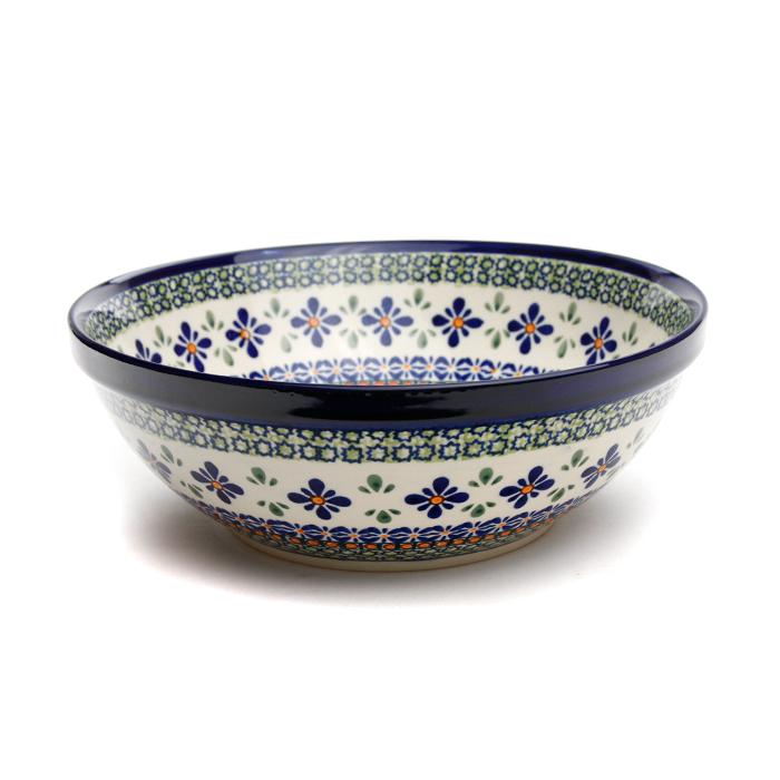 ボウル・大[Z851-DU60]【ポーリッシュポタリー[ポーランド食器・陶器]】
