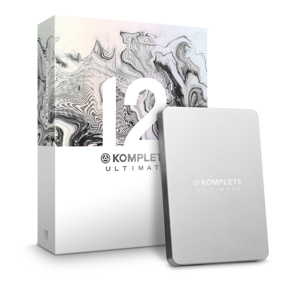 NATIVE INSTRUMENTS KOMPLETE 12 ULTIMATE Collector's Edition UPG for K8-12