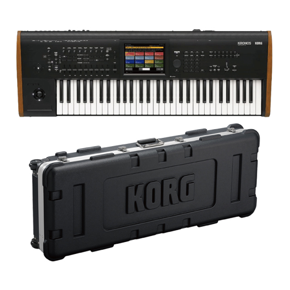 KORG KRONOS2-61 + 純正ハードケース◆数量限定:ポイント10倍!◆
