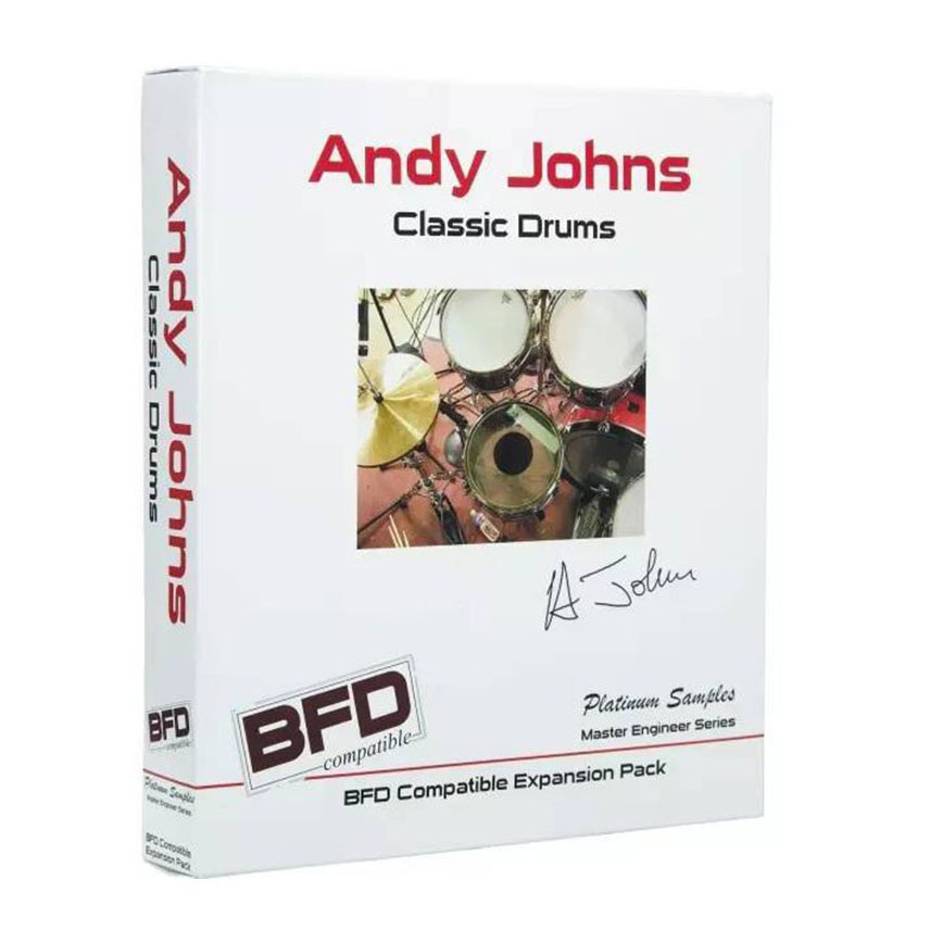Platinum Samples Andy Johns Classic Drums for BFD◆数量限定:ポイント5倍!◆