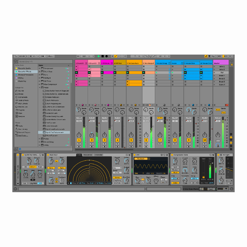 Ableton Live 10 Suite(UPG from Live 1-9 Standard)【オンライン納品】
