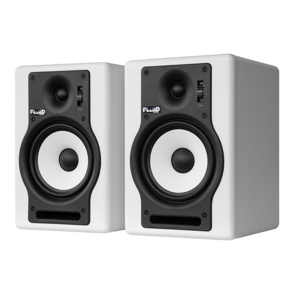 Fluid Audio F5 ホワイト(ペア)