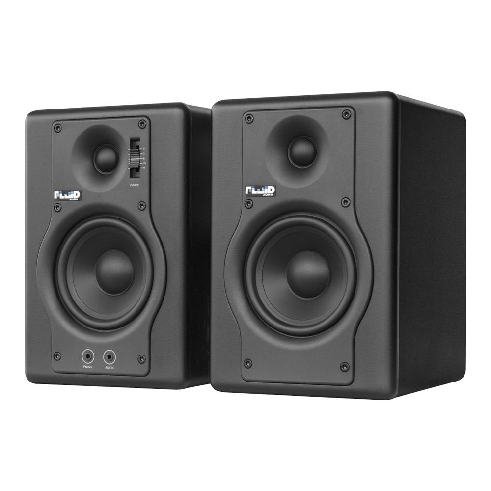 Fluid ブラック(ペア) Fluid Audio F4 F4 ブラック(ペア), サシキチョウ:81244e31 --- village-aste.fr