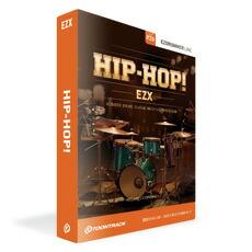 百科事典並の収録内容 ヒップホップ専用EZX拡張ドラム音源 保障 TOONTRACK モデル着用 注目アイテム HIP-HOP EZX