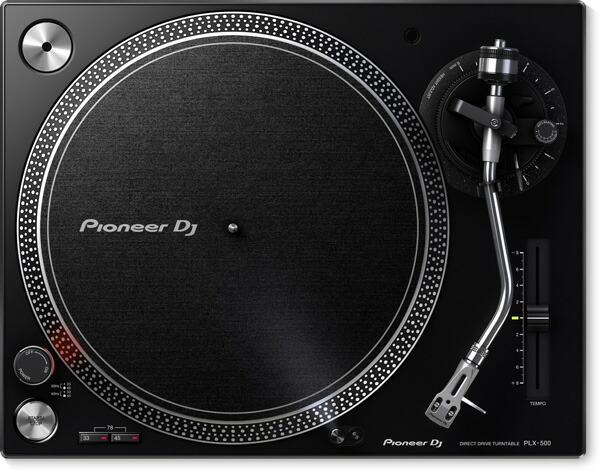 高品位なアナログレコードサウンドでDJプレイが可能な ダイレクトドライブターンテーブル Pioneer 割引も実施中 気質アップ DJ パイオニア 送料無料 -DIRECT PLX-500-K TURNTABLE- DRIVE