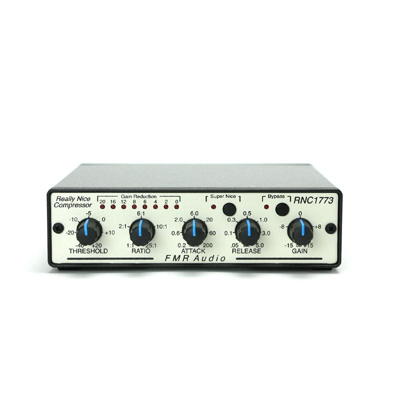 原音を全く失わない フル コントロール 限定特価 ステレオ仕様のコンプレッサー 配送員設置送料無料 FMR AUDIO RNC1773 Really Nice Compressor 送料無料
