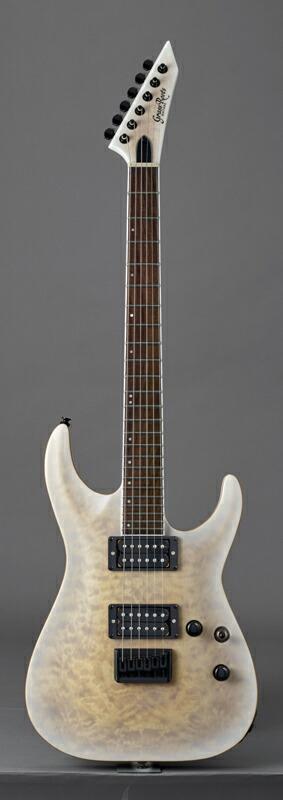 安売り エレキギター グラスルーツ 2020 Grass Roots ホライゾン GrassRoots Original 送料無料 See Thru Satin G-HR-55FX White Series