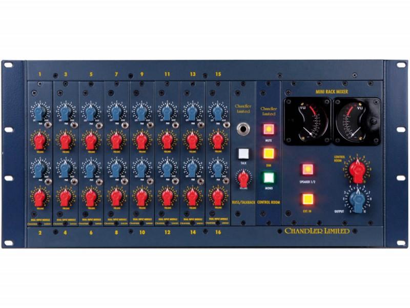 アビィロードと作り上げた 最も贅沢な16chのアナログミキサー Chandler ハイクオリティ Limited TG Rack Mixer AbbeyRoad Console 送料無料 Mixing Analog 大人気! 16×2
