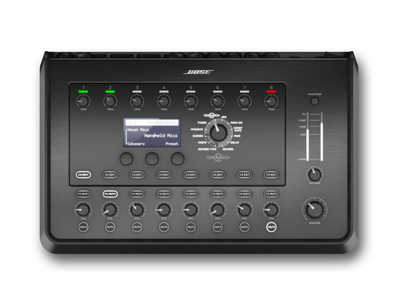 おトク BOSE まとめ買い特価 ボーズ 超小型8chデジタルミキサー Bose ToneMatch 送料無料 Mixer T8S