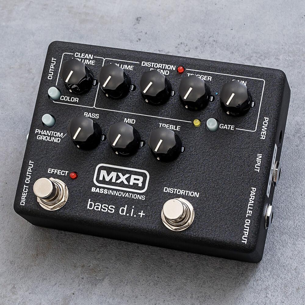 ベーシストにお奨め MXR 国内送料無料 M80 送料無料 BASS D.I.+ 爆買いセール