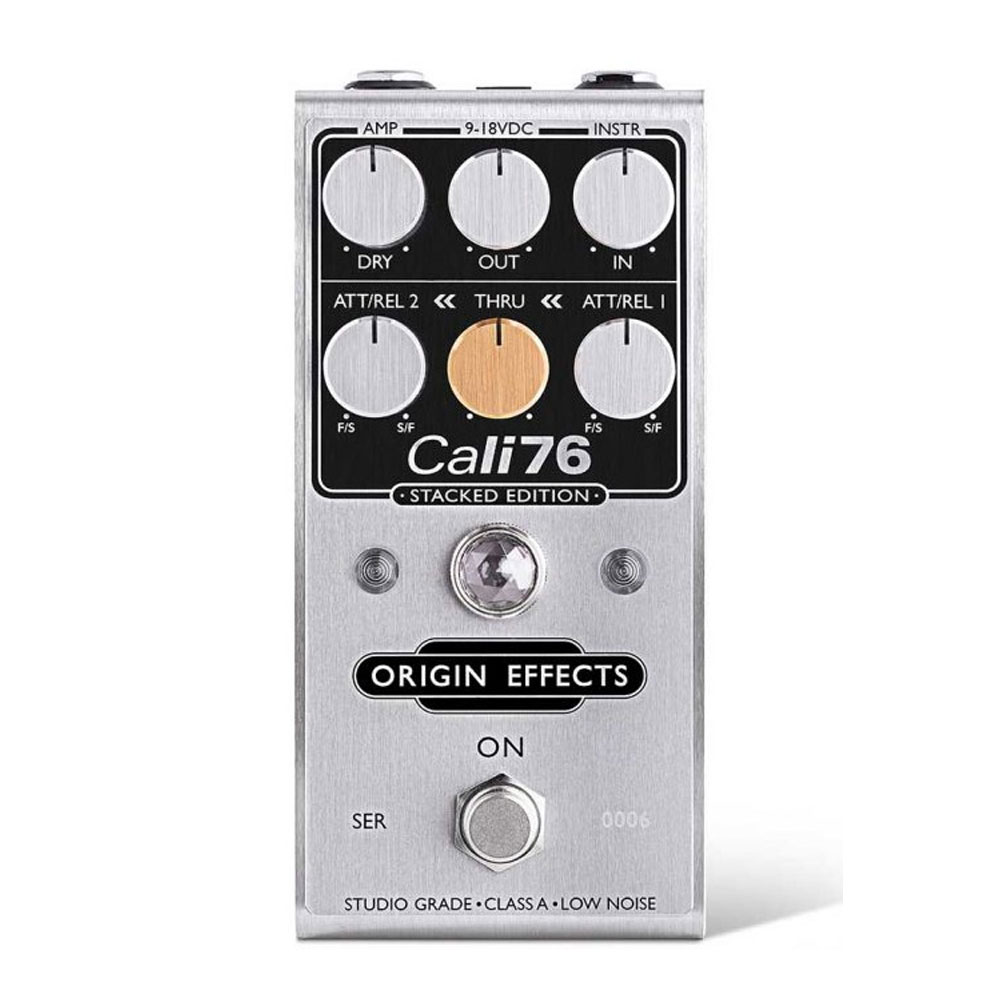 新品未使用 2段階の1176スタイルのコンプレッサー Origin Effects 無料サンプルOK Cali76-SE 送料無料