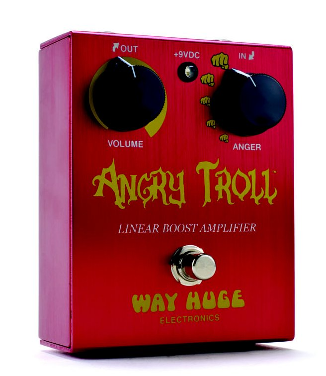 WAY HUGE WHE-101 ANGRY TROLL-Linear Boost Amplifier-【送料無料】