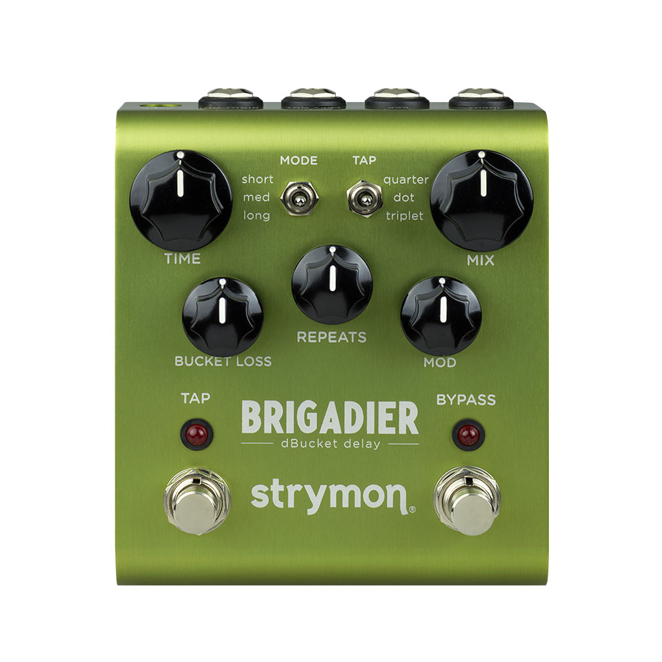 安心の定価販売 アナログディレイをデジタルコントロール ブリガディール strymon BRIGADIER unit~ ~dBucket DELAY 送料無料 数量は多