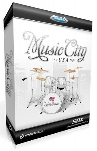 TOONTRACK SDX MUSIC CITY USA【送料無料】