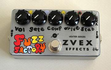 ZVEX FUZZ FACTORY Vexter Series 【送料無料】
