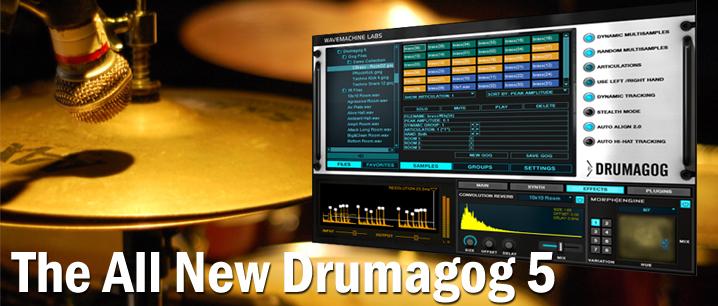WavemachineLabs Drumagog 5 Pro