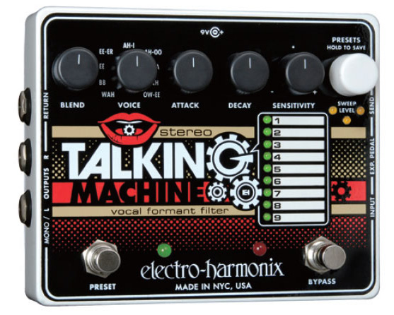electro-harmonix Stereo Talking Machine【送料無料】