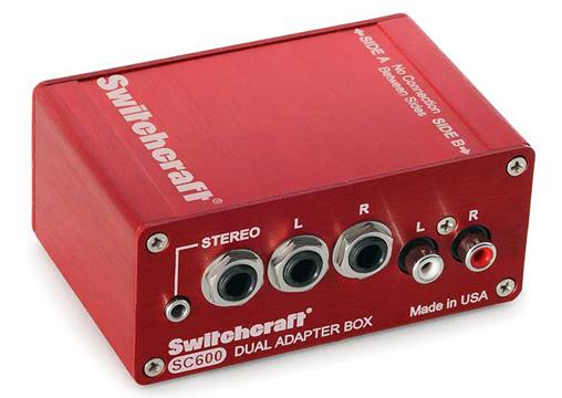 Switchcraft SC600【 スタジオクオリティ向上計画 】【 RECORDING EFFECTOR 】