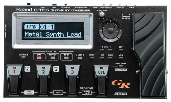Roland GR-55GK BK(GK-3同梱モデル)ギターシンセサイザー (GR55GK) 【送料無料】