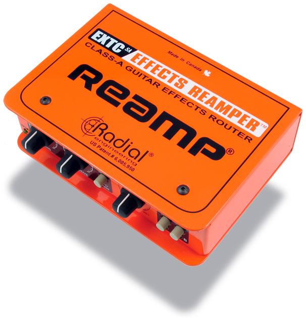 Radial EXTC-SA EFFECTS REAMPER【 スタジオクオリティ向上計画 】【 送料無料!】