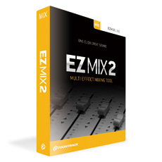 ワンクリックでサウンドメイク お手軽ミキシングツール TOONTRACK 祝日 EZ MIX 2 セール価格