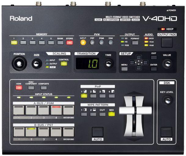 最高級のスーパー Roland V-40HD - Multi-Format V-40HD Multi-Format Video Switcher - Roland【送料無料】, 成城石井:3f030236 --- konecti.dominiotemporario.com