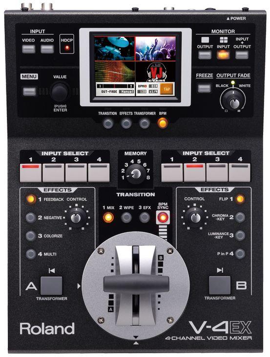 Roland V-4EX - 4-Channel Video Mixer - 【送料無料】