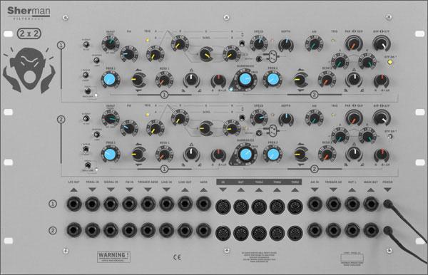 Sherman Filterbank 2 Dual Rack【送料無料】