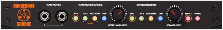 Dangerous MusicSource Small Monitor Controller w/USB DAC【送料無料】