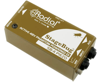 Radial StageBug SB-4 Piezo