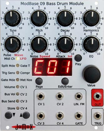 Jomox ModBase09 Bass Drum Module 【送料無料】