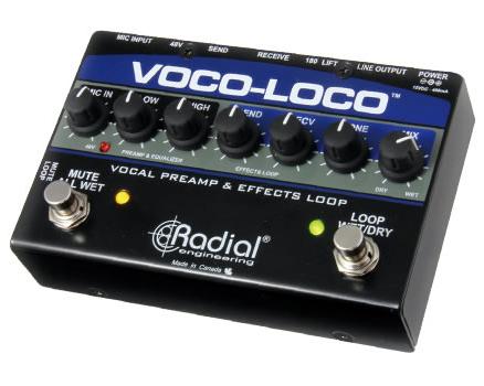 Radial VOCO-LOCO 【 RECORDING EFFECTOR 】【 スタジオクオリティ向上計画 】【送料無料】
