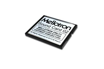 Mellotron Mellotron Sound Card 02 【送料無料】