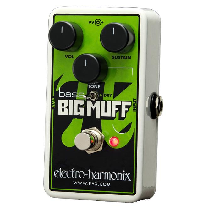 electro-harmonix Nano Bass Big Muff PiDistortion/Sustainer for bass