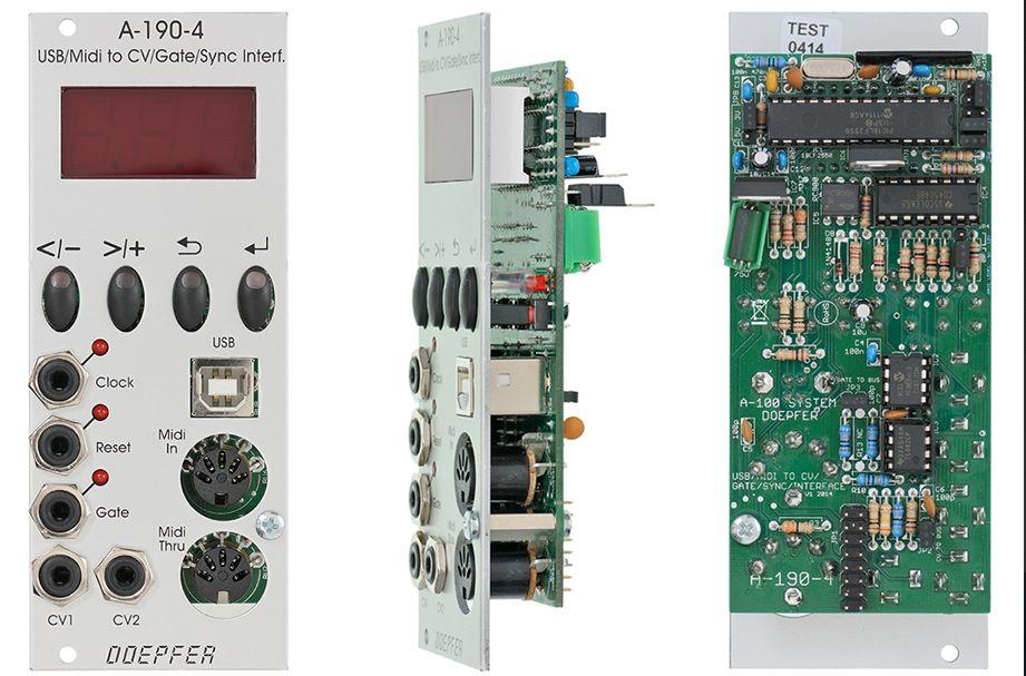 Doepfer A-190-4 USB/MIDI to CV/Gate/Sync Interface【送料無料】