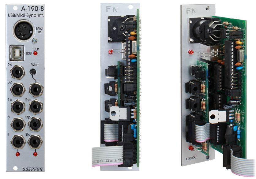 Doepfer A-190-8 USB/Midi to Sync Interface【送料無料】
