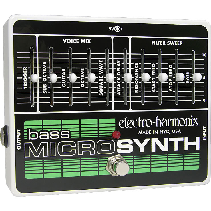 electro-harmonix Analog Bass Synthesizer Micro Synthesizer Analog Bass Microsynth【送料無料】, キタカタシ:f8506148 --- sunward.msk.ru