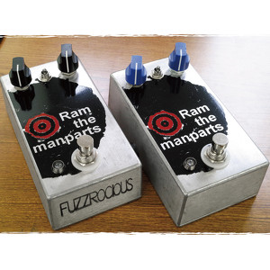 Fuzzrocious Pedals Ram the manparts 【送料無料】
