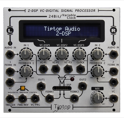 【逸品】 TIPTOP AUDIO Z-DSP VC-Digital VC-Digital Signal Processor Z-DSP【送料無料 Signal】, 酒天美禄 いとう酒店:d24257ec --- clftranspo.dominiotemporario.com