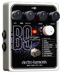 60年代のオルガンをエミュレートしたelectro-harmonix 新色 B9 初回限定 Organ B-9 electro-harmonix Machine