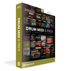TOONTRACK DRUM MIDI 6PACK 【ダウンロード製品】
