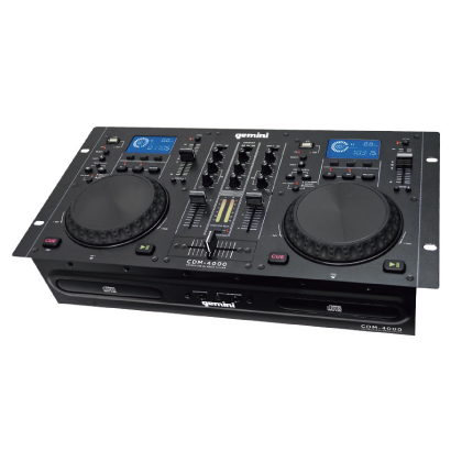 GEMINI デュアルCDJPLAYER+MIXER CDM-4000 GEMINI【送料無料】, お待たせ!:6a8c985c --- officewill.xsrv.jp