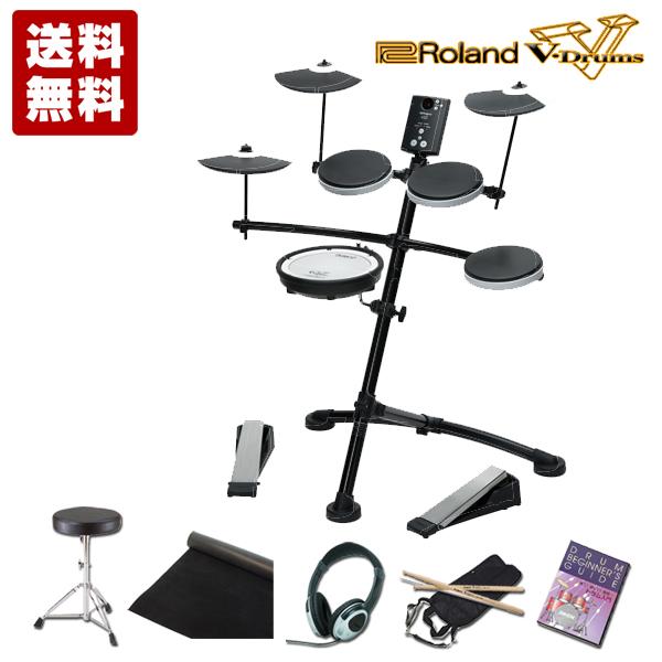 ローランド 電子ドラムRoland V-Drums Kit TD-1KV メガバリューセット【送料無料】