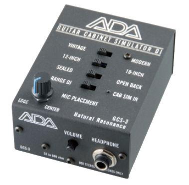 ADA GCS-3 【送料無料】【 スタジオクオリティ向上計画 】【 レコーディング用シミュレーション装備 】【 MODERING & SIMULATOR 】