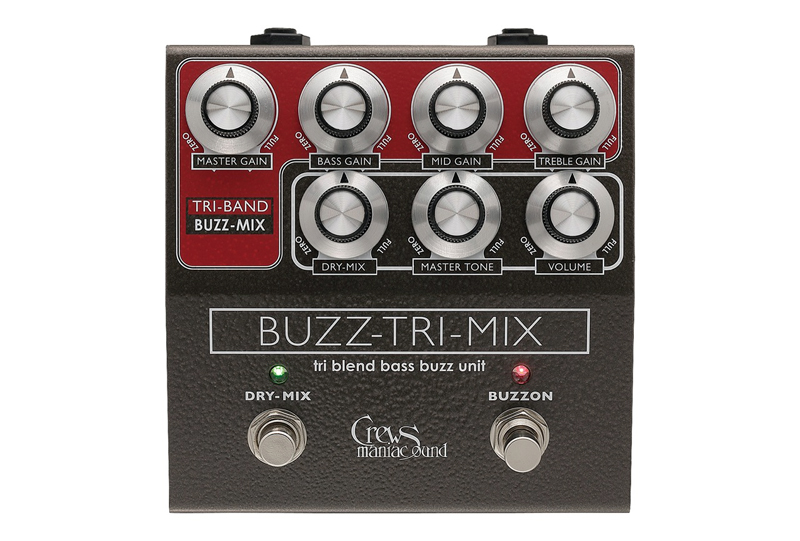 Crews Maniac Sound Buzz-Tri-Mix【 Crews PREAMP & EFFECT Series 】【送料無料】