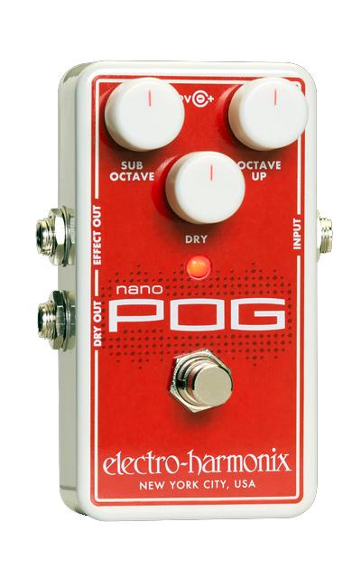 【新品】 electro-harmonix Nano Pog Pog【送料無料】【送料無料 Nano】, リサイクルマート:e5d9ab46 --- canoncity.azurewebsites.net