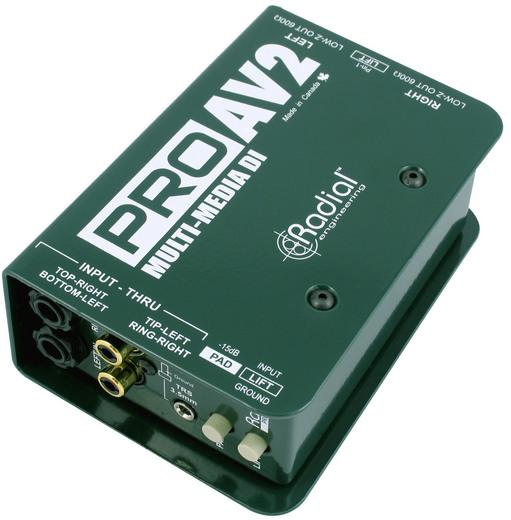 Radial Pro AV2 【国内正規輸入品】【送料無料】