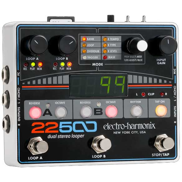 electro-harmonix 22500 Dual Stereo Looper【送料無料】