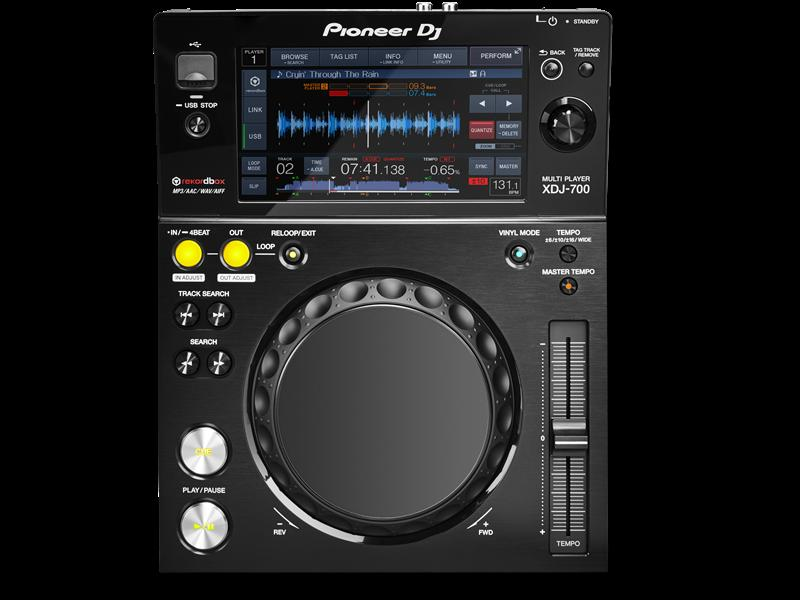 Pioneer DJ パイオニア XDJ-700 - PERFORMANCE MULTIPLAYER -【送料無料】